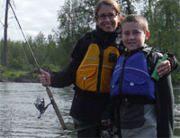 Gear up for your Alaska spin fishing trip.